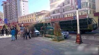 Labrang demonstrators