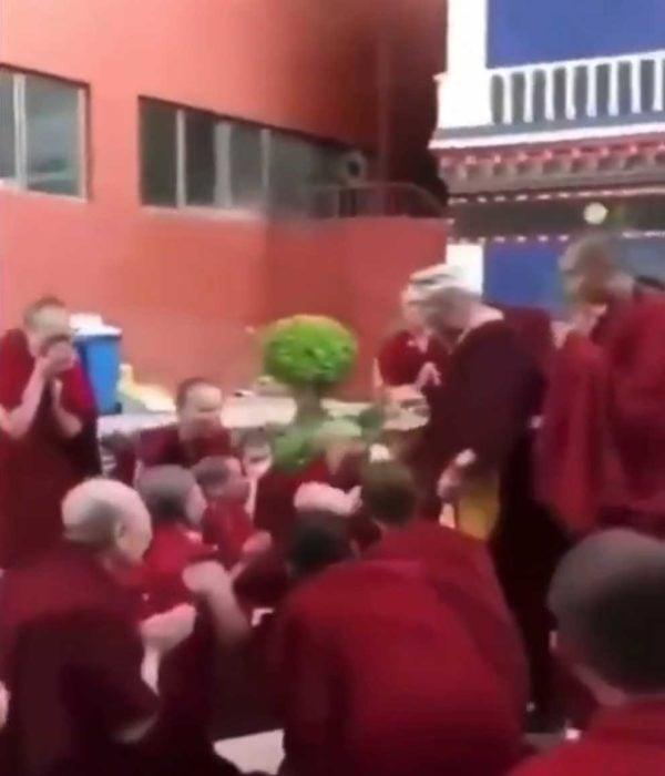 Nuns cry